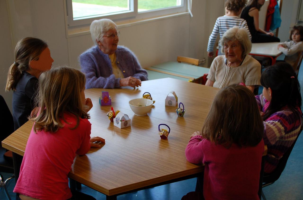 Pâques 2012 - Un bel instant de partage...