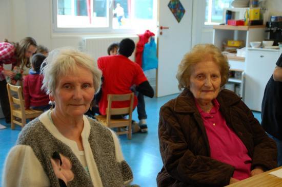 Pâques 2012 avec les pensionnaires de l'EMS les Mimosas - Genthod