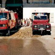 Visite chez les pompiers de Genthod