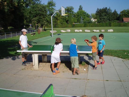 Tournoi de ping-pong