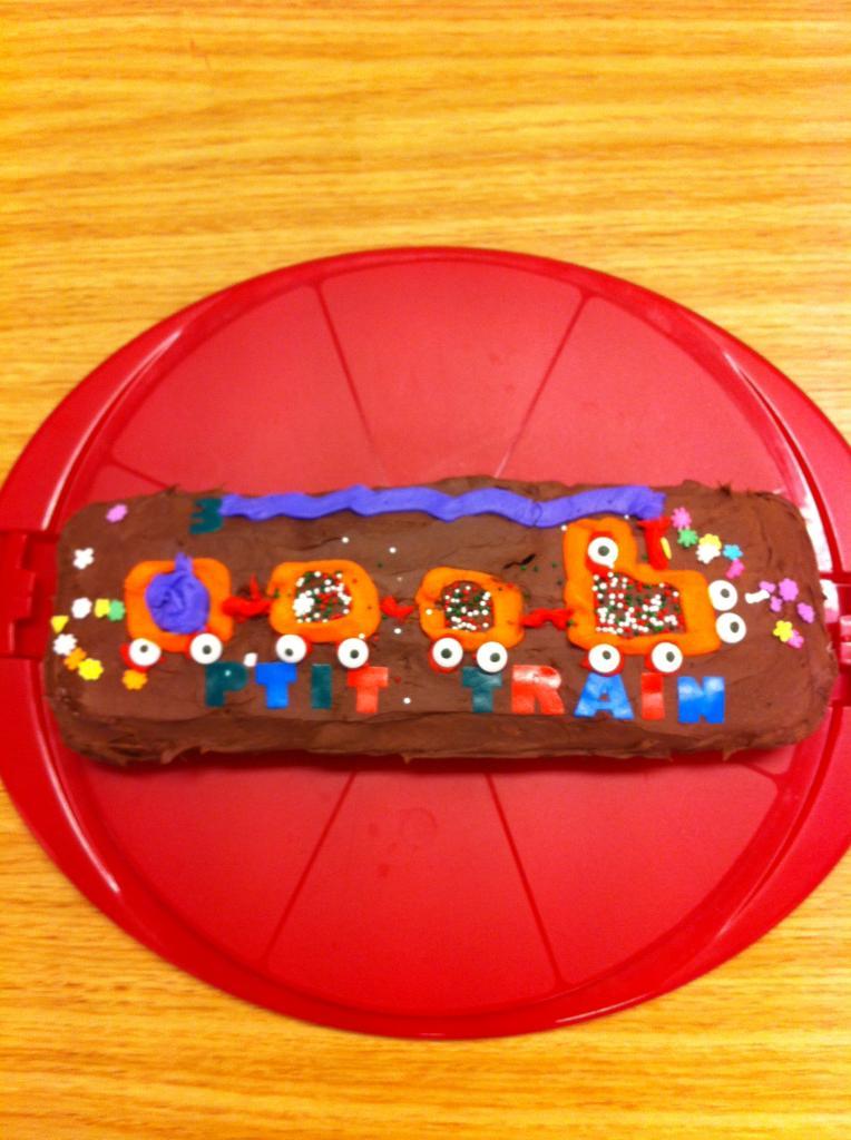Merci à Emilio pour le magnifique gâteau