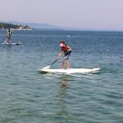 Stand Up Paddle - Plage de Versoix