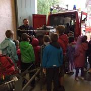 En visite chez les pompiers de Genthod