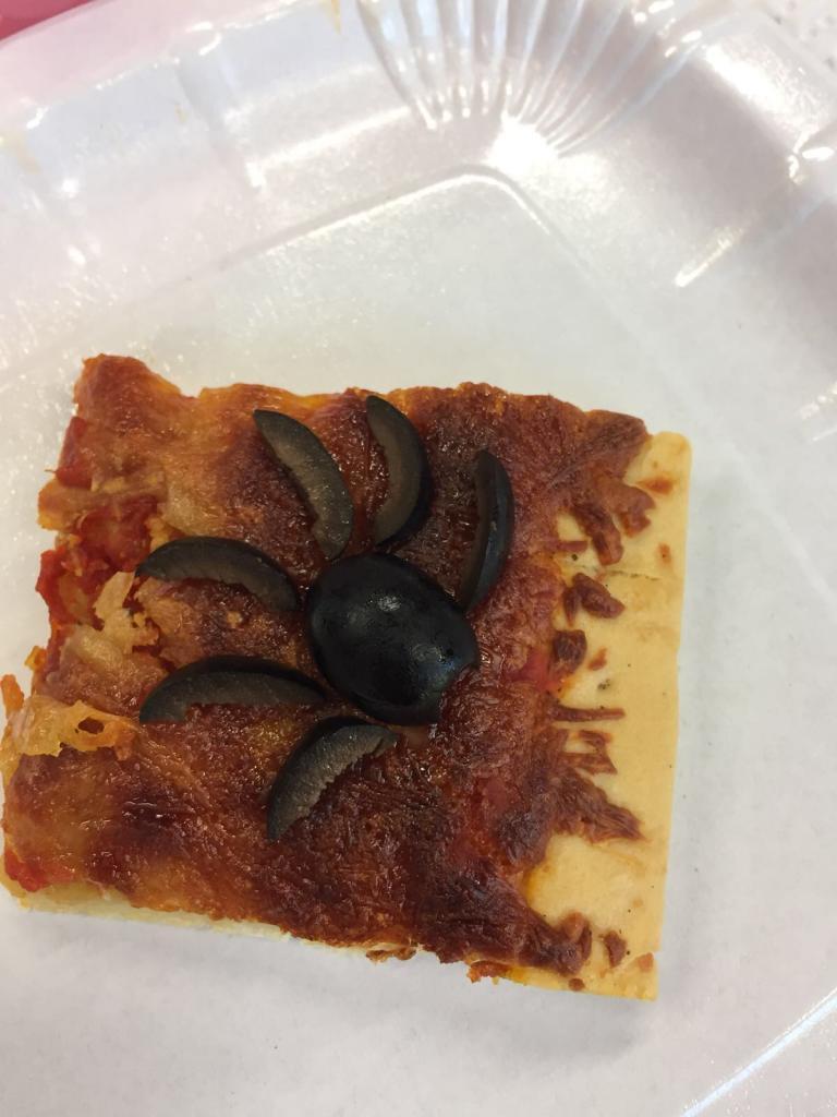 Hummmm une pizza à l'araignée