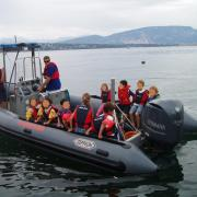Visite des sauveteurs de Genthod-Bellevue