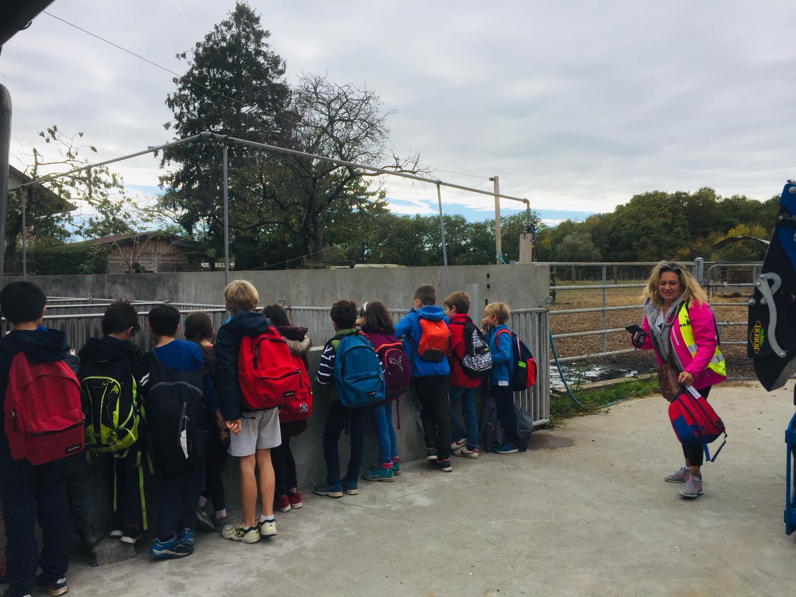 Visite de la ferme de Genthod