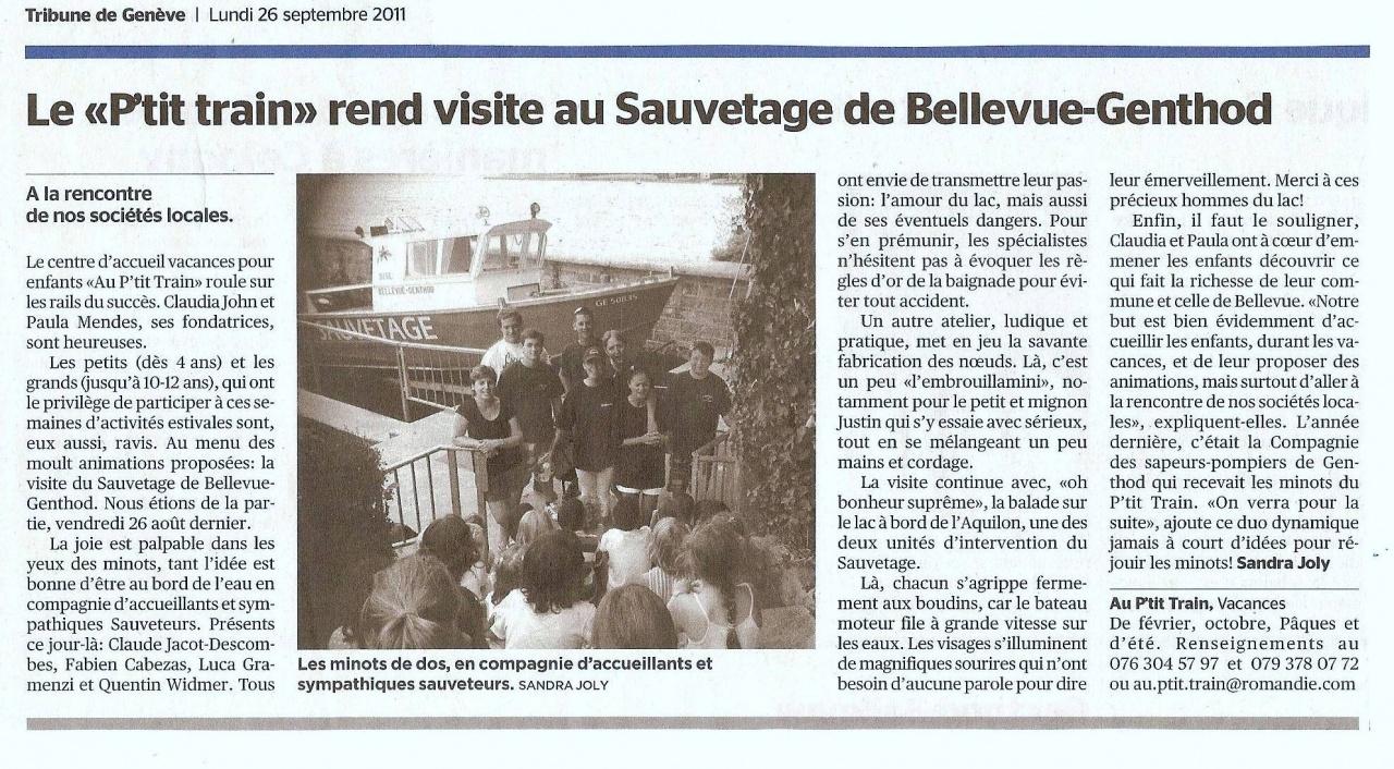 article Tribune de Genève sept 2011.jpg